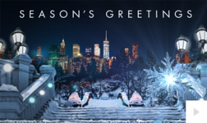 Evening Spectacle corporate holiday ecard thumbnail