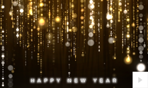 glittering wishes new year corporate holiday ecard thumbnail