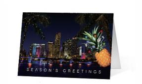 2019 Pineapple Surprise Vivid Greetings Print cards