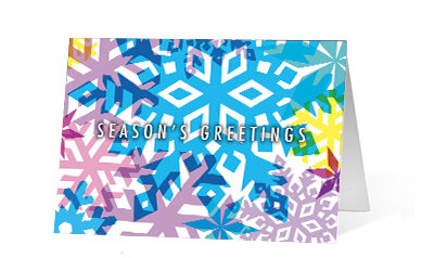2019 Colors Of the Season Vivid Greetings Print cards