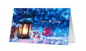 2019 crystal of ice corporate holiday greeting card thumbnail