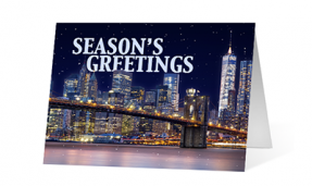 2019 heart of the city corporate holiday greeting card thumbnail
