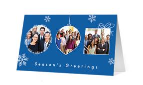 2019 photo fun corporate holiday greeting card thumbnail
