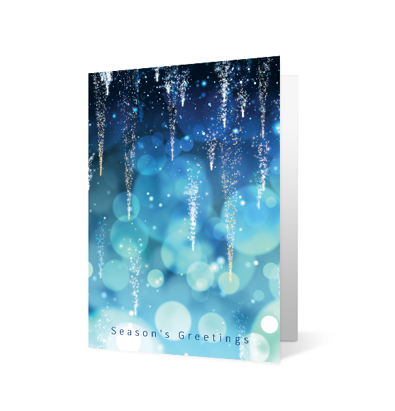 Shimmering Icicles - Print