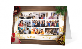 2019 company card corporate holiday greeting card thumbnail