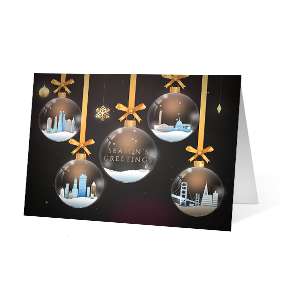Glass Ornaments - Print