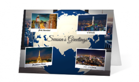 2019 Global sentiments corporate holiday greeting card thumbnail