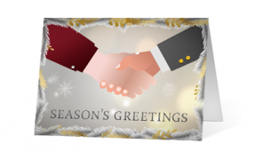 2019 seasonal gestures corporate holiday greeting card thumbnail