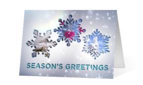 2019 sparkling views nature corporate holiday greeting card thumbnail