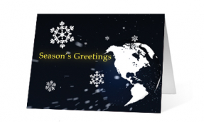 2019 snowflake world corporate holiday greeting card thumbnail