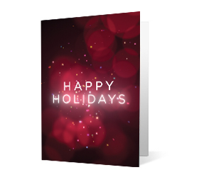 2019 seasonal swipe corporate holiday greeting card thumbnail