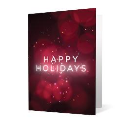 2019 seasonal swipe corporate holiday greeting card thumbnail