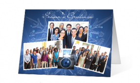 2019 snapshots corporate holiday greeting card thumbnail