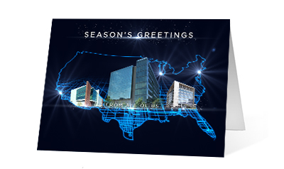 2019 company offices corporate holiday greeting card thumbnail
