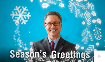 Festive Faces corporate holiday ecard thumbnail Version2