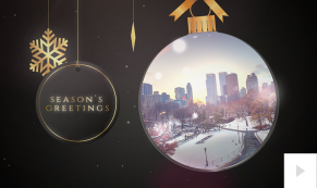 2019 glass ornament corporate holiday ecard thumbnail