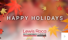 2019 Lewis Roca - Custom corporate holiday ecard thumbnail