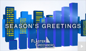 2019 Flaster greenberg - Custom corporate holiday ecard thumbnail