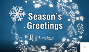 2019 Troy Gould - Festive Faces corporate holiday ecard thumbnail