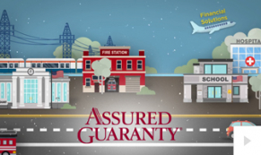 2019 Assured Guaranty - custom corporate holiday ecard thumbnail
