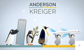 2019 Anderson Kreiger - custom corporate holiday ecard thumbnail