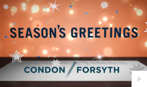2019 Condon Forsyth - corporate holiday ecard thumbnail