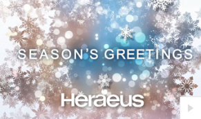 2019 Heraeus - crystal fountain corporate holiday ecard thumbnail