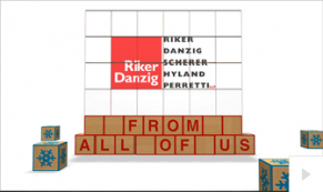 2019 Riker Danzig - building blocks corporate holiday ecard thumbnail