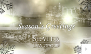 2019 Slater Law - corporate holiday ecard thumbnail