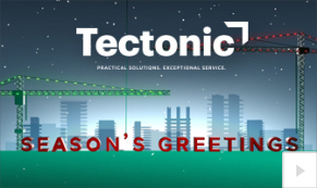 2019 Tectonic Holiday Construction Vivid Greetings Corporate Ecard