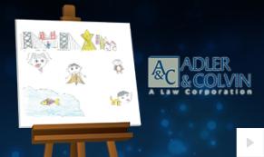 2019 Adler Colvin custom Vivid Greetings Corporate Ecard