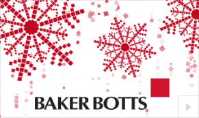 2019 Baker Botts custom Vivid Greetings Corporate Ecard