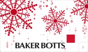 2019 Baker Botts custom Vivid Greetings Corporate Ecard