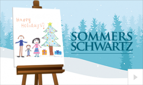 2019 Sommers Schwartz custom Vivid Greetings Corporate Ecard