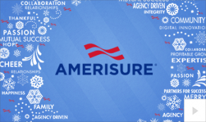 2019 Amerisure wreath words Vivid Greetings Corporate Ecard