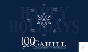 2019 Cahill holiday spirit Vivid Greetings Corporate Ecard