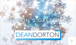 2019 Dean Dorton crystal fountain Vivid Greetings Corporate Ecard