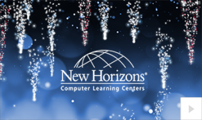 2019 New Horizons shimmering icicles Vivid Greetings Corporate Ecard