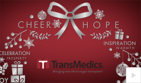 2019 TransMedics elegant wish Vivid Greetings Corporate Ecard