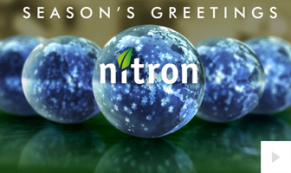 2019 Nitron Language Orbs Vivid Greetings Ecard