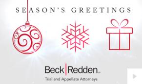 2019 Beck Redden Sparkling Lines Vivid Greetings Ecard