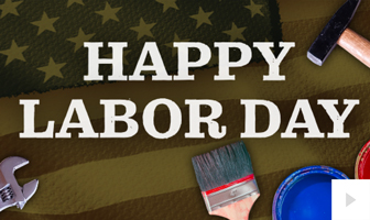 Labor Day 2020 corporate holiday ecard thumbnail