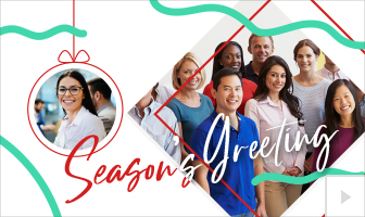 Festive Dance 2020 corporate holiday ecard thumbnail
