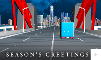 Holiday Highway- corporate holiday ecard thumbnail
