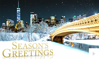 Peacefu lNature corporate holiday ecard thumbnail