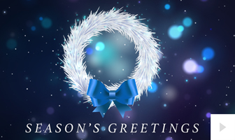 2020 Wreath Inside corporate holiday ecard thumbnail