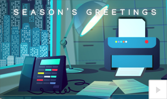 Night Before 2020 corporate holiday ecard thumbnail