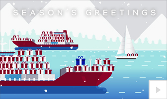 Gift Journey 2020 corporate holiday ecard thumbnail