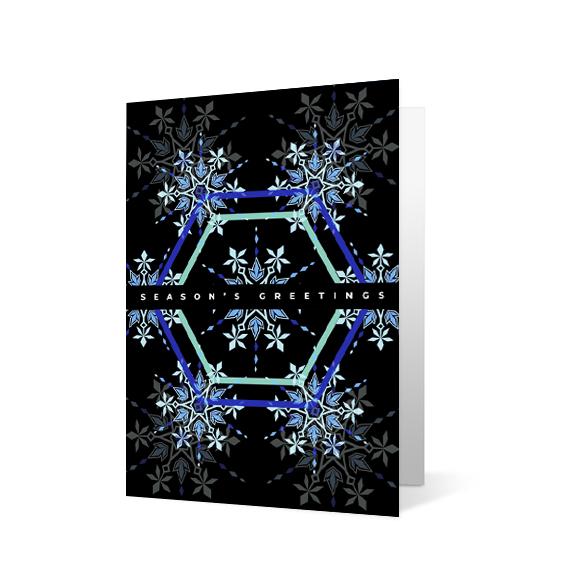 Playful Snowflake - Print