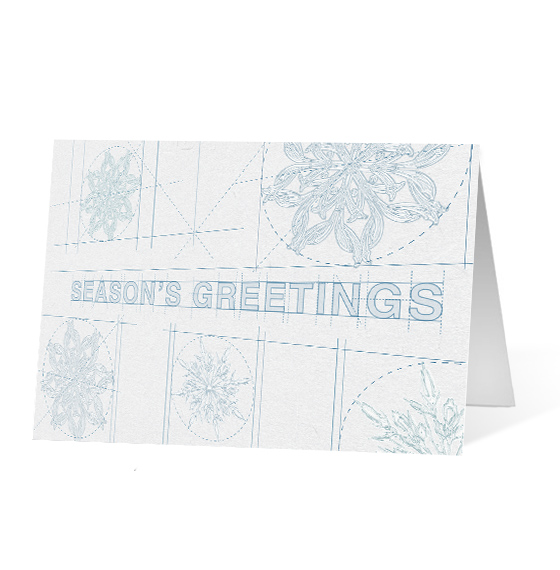 City Sketches corporate holiday print thumbnail